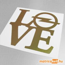 Opel love matrica