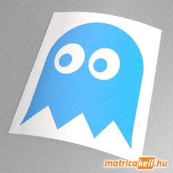 Pacman szellem matrica