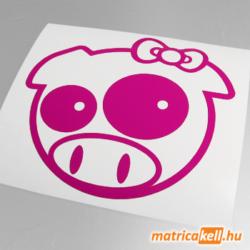 Pig girl matrica