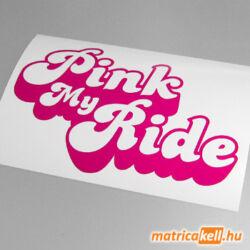 Pink my Ride matrica