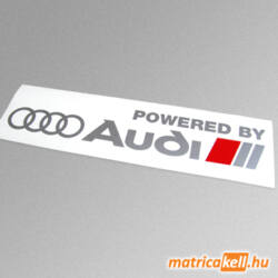 Powered by Audi matrica