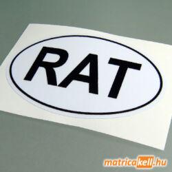 RAT felségjelzés matrica