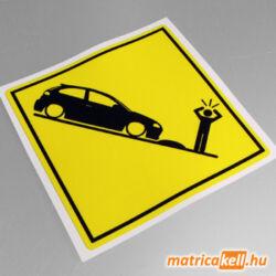 Seat Ibiza 6L speedbump matrica