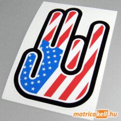 Shocker matrica Amerika (USA) zászlóval