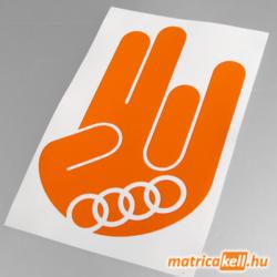 Shocker matrica Audi jellel