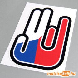 Shocker matrica Cseh zászlóval