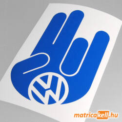 Shocker matrica VW jellel