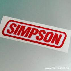 Simpson felirat matrica