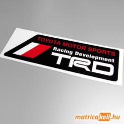 Toyota Racing Development matrica