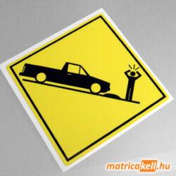 Volkswagen Caddy Mk1 speedbump matrica
