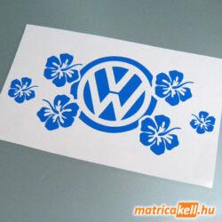 VW matrica Hawaii virággal
