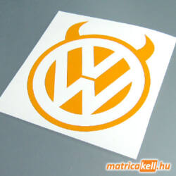 VW ördög matrica