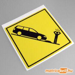 Volkswagen Passat B5 kombi speedbump matrica