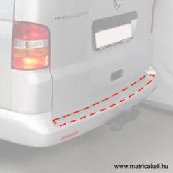 VW Volkswagen Transporter T5 hátsó lökhárító védőfólia