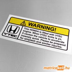 Warning Vtec matrica