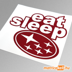 eat sleep Subaru matrica
