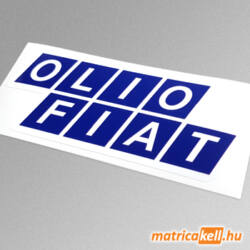 Olio Fiat matrica