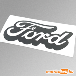 Ford retro felirat matrica