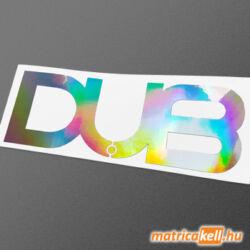 DUB hologramos matrica