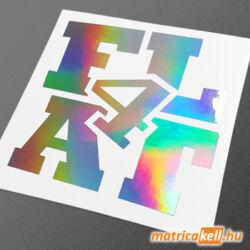 Flat four boxer hologramos matrica