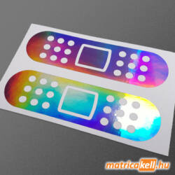 Sebtapasz hologramos matrica