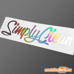 Simply Clean hologramos matrica