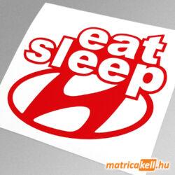 eat sleep Hyundai matrica
