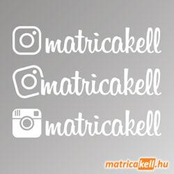 instagram egyedi név matrica insta betűtípussal
