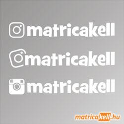 instagram egyedi név matrica játékos betűtípussal