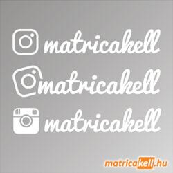 instagram egyedi név matrica írott betűtípussal