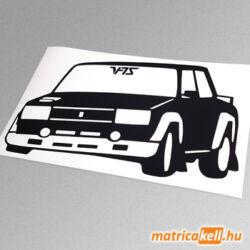 Lada VFTS rally versenyautó matrica