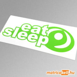 eat sleep Mazda matrica (régi emblémával)
