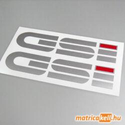 Opel GSI felirat matrica