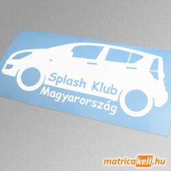 Suzuki Splash klub matrica
