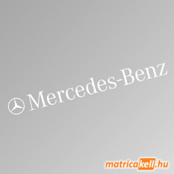 Mercedes Benz szélvédőmatrica