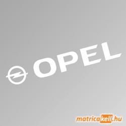 Opel szélvédőmatrica (új felirat)