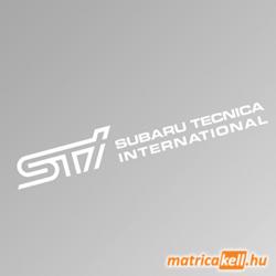 Subaru STI szélvédőmatrica (Subaru Tecnica International)