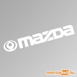 Mazda szélvédőmatrica (régi emblémával)