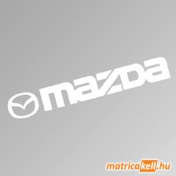 Mazda szélvédőmatrica (új emblémával)