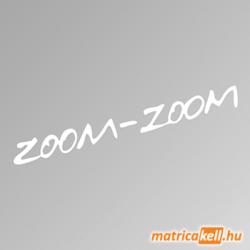 Mazda Zoom Zoom szélvédőmatrica