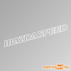 MazdaSpeed szélvédőmatrica