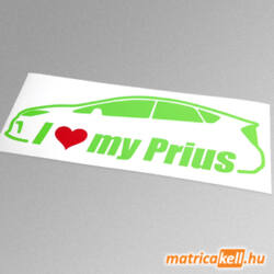 I love my Toyota Prius matrica