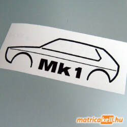Volkswagen Golf Mk1 matrica
